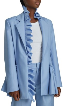 Maggie Marilyn I Lead From The Heart Ruffle Trim Jacket