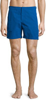 Orelebar Brown Bulldog Solid Swim Trunks, Blue