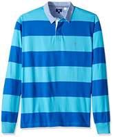 Gant Men's Stripe Rugby Shirt,XXXL