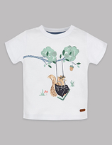 Autograph Cotton Blend Squirrel T-Shirt