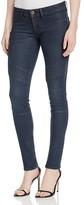DL1961 Florence Instasculpt Coated Skinny Jeans in Firestorm