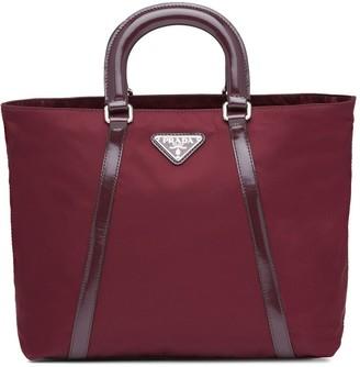 Prada Two-Way Zipper Tote Bag