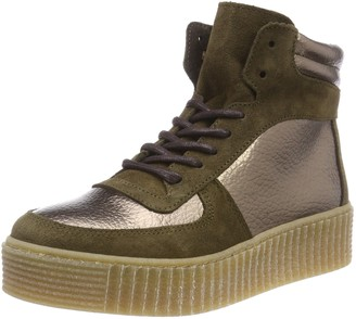 Brown Leather Hi Tops Women - Up to 50
