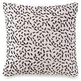 Kelly Wearstler Canyon Quarry Square Throw Pillow in Hemp