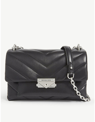 MICHAEL Michael Kors Cece quilted medium leather shoulder bag