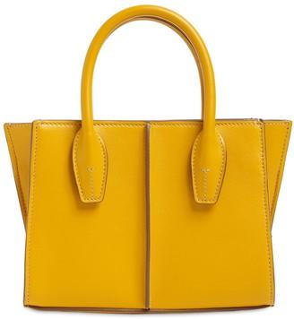 Tod's Mini Lee Leather Shopping Tote Bag