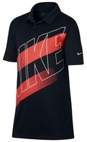 Nike Boy's Dry Victory Graphic Polo