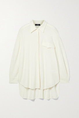 Arch4 Bonnie Oversized Cashmere Shirt - Ivory
