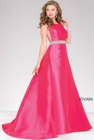 Jovani A-Line Backless Prom Dress 46501