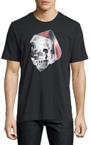 Robert Graham Santa Skull Graphic T-Shirt, Black