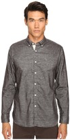 Billy Reid Brushed Twill Shirt Men's Long Sleeve Button Up