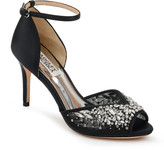 Badgley Mischka Opera Embellished Ankle Sandals