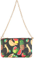 Dolce & Gabbana fruit print clutch - women - Leather - One Size
