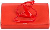Perrin Paris X Zaha Hadid Loop clutch - women - Lamb Skin - One Size