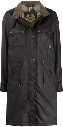 Belstaff Cottle press-stud parka coat