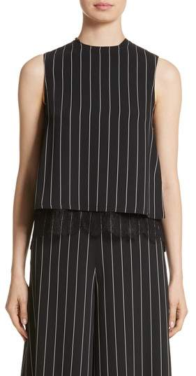 Yigal Azrouel Linear Pleat Back Tank