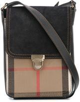 Burberry house check messenger bag