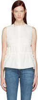 Brock Collection Ivory Taylor Blouse