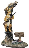 Young's Inc 26865 Resin Deer Hunter Man Bait Figurine, 7.5-Inch