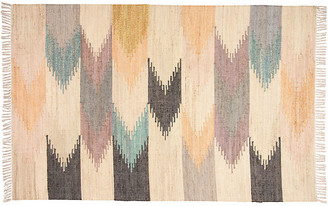 One Kings Lane Leilah Kids' Handwoven Rug - Natural - 5'x8'