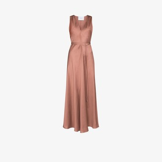 BONDI BORN Belted Maxi Dress
