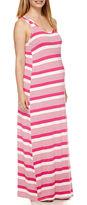 Asstd National Brand Maternity Sleeveless Knit Maxi Dress