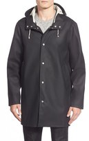 Stutterheim Men's Stockholm Waterproof Hooded Raincoat