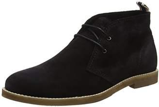 Jack and Jones Men's Alpha Ankle Boots Black, 41 EU