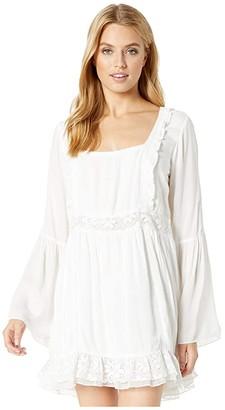 Show Me Your Mumu Sicily Mini Dress (White) Women's Clothing