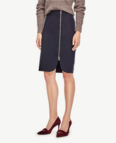 Ann Taylor Petite Side Zip Pencil Skirt