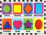 Melissa & Doug Kids Toy, Shapes Chunky Puzzle