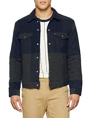 Levi's Men's Wool Jacket Denim,XX-Large