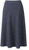 Classic Women's Petite Sport Knit Skirt-Warm Cinnabar