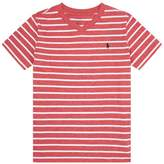 Polo Ralph Lauren Stripe Printed Logo T-Shirt