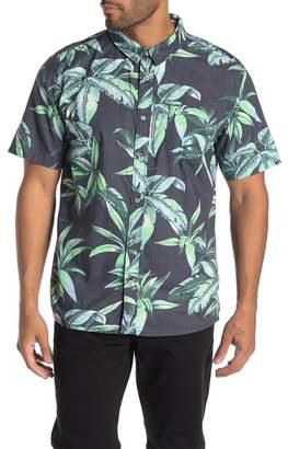 Quiksilver Deep Bay Regular Fit Short Sleeve Shirt