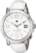 Tommy Hilfiger Women's 1781440 Analog Display Quartz White Watch