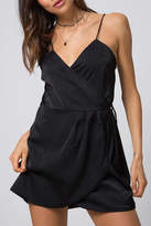 Motel Wrap Slip Dress