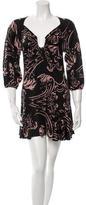 Mara Hoffman Printed Silk Dress