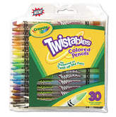 Crayola Twistables 30 Piece Set Colored Pencils