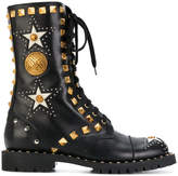 Fausto Puglisi Anfibio studded boots