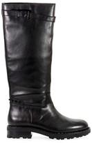 Ash Black Wampas Boot With Studs