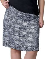 Soybu Plus Size Wanderlust Printed Skirt