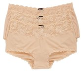 Cosabella Plus Size Women's 'Cheekie' Lace Trim Briefs