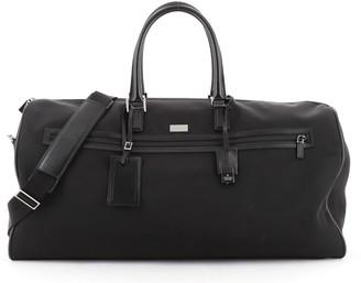 Gucci Vintage Convertible Duffle Bag Nylon Large