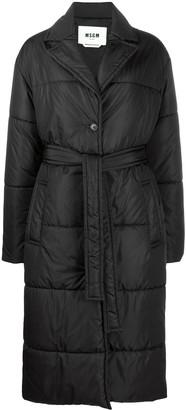 MSGM Long-Length Padded Coat