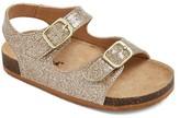 Cat & Jack Toddler Girls' Tisha Two Piece Footbed Sandals
