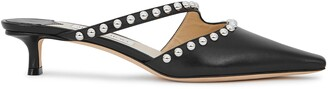 Jimmy Choo Ros 35 Studded Leather Mules