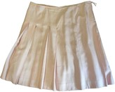 Celine Pink Silk Skirt for Women Vintage