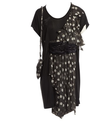 Tsumori Chisato Black Silk Dress for Women