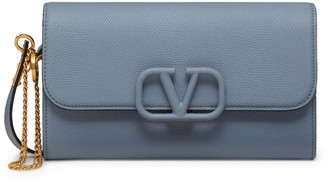 Valentino Garavani Leather VSLING Strap Pouch